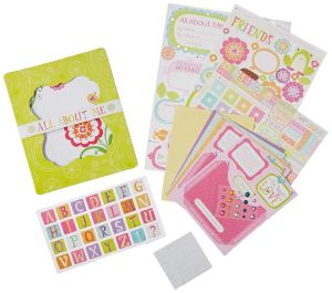 American Girl Mini Scrapbook
