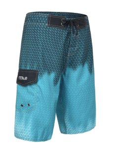 Blue Mens Swim Trunks