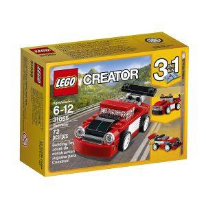 Red Racer Legos
