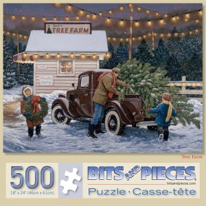 Tree Farm Jigsaw Puzzle