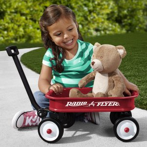 Baby Radio Flyer Red Wagon