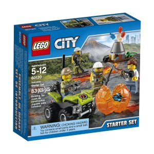 City Volcano Explorers Legos