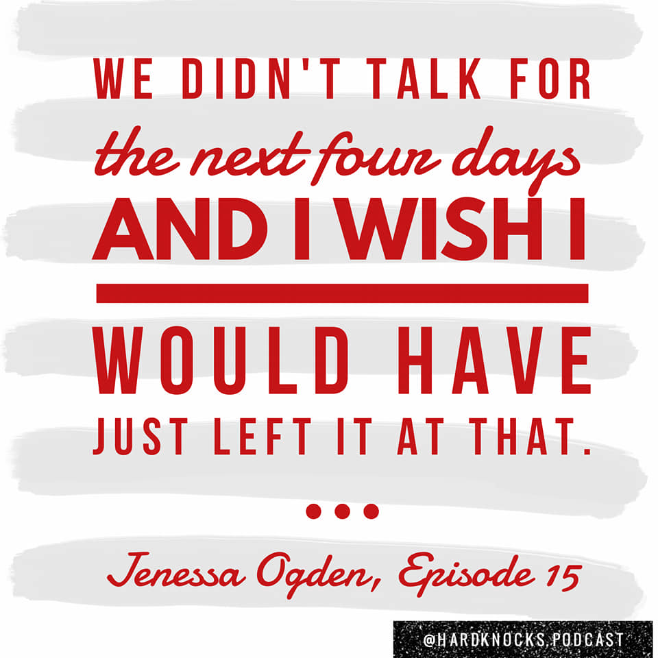 Jenessa Ogden, pt 1 - Quote 1