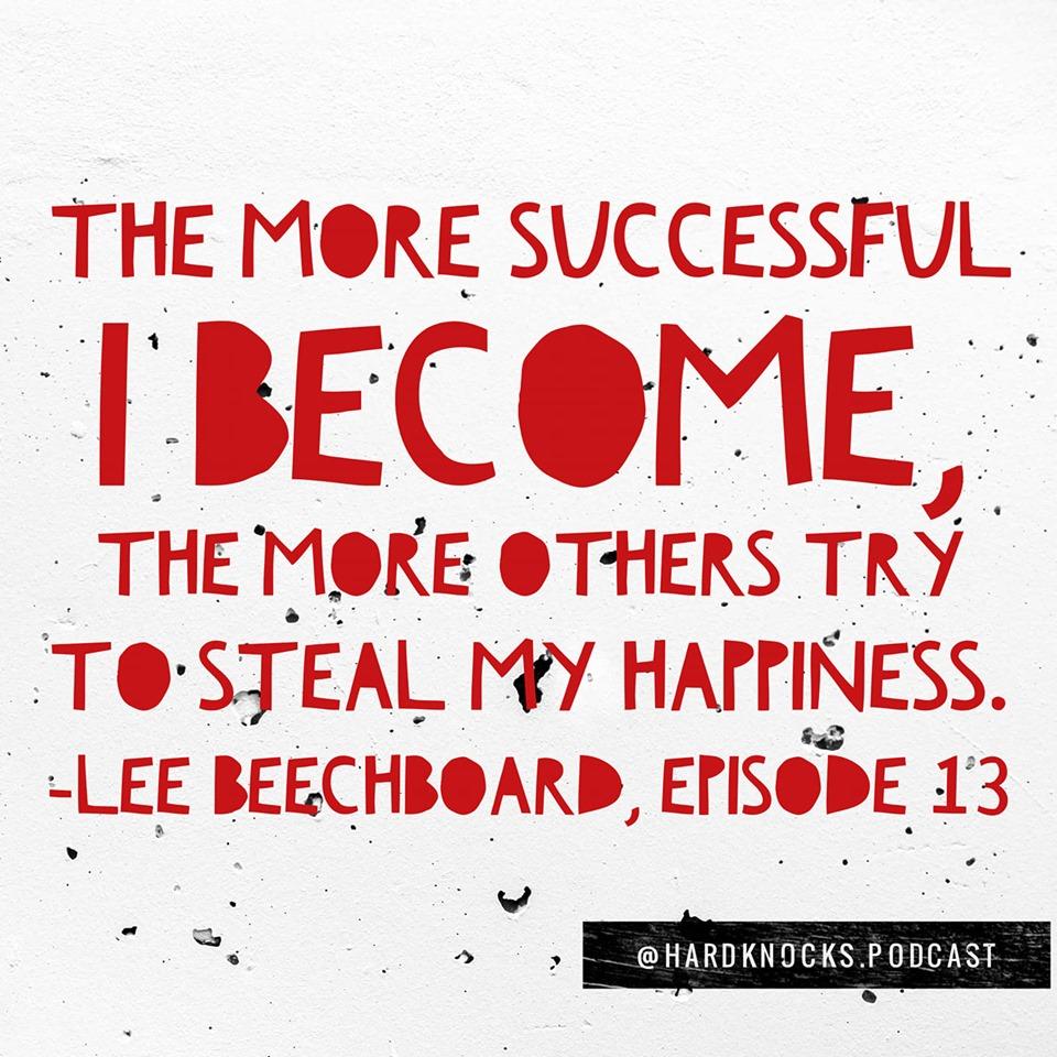 Lee Beechboard - Quote