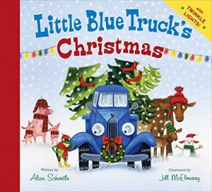 Little Blue Truck Christmas Book