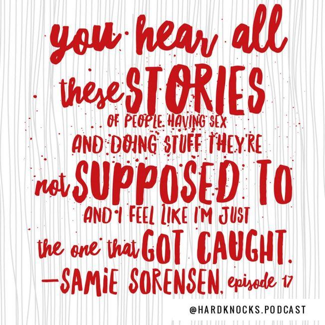 Samie Sorensen - Quote