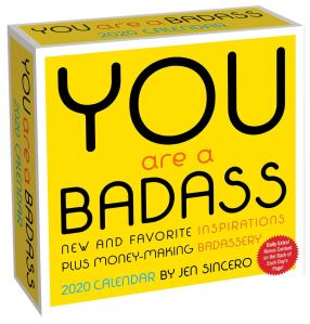 You are a Badass Daily Calendar 2020