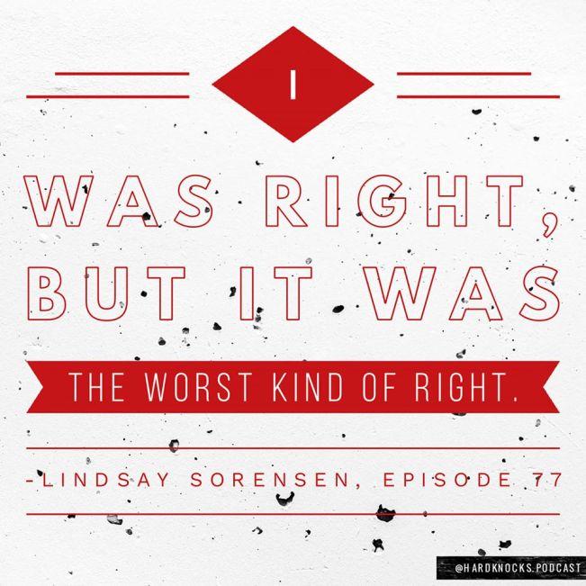 Lindsay Sorensen - Quote