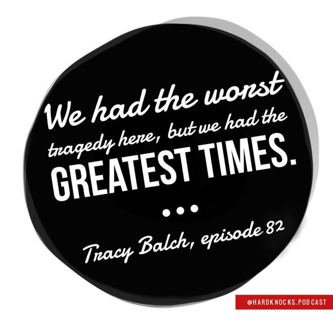 Tracy Balch - Quote