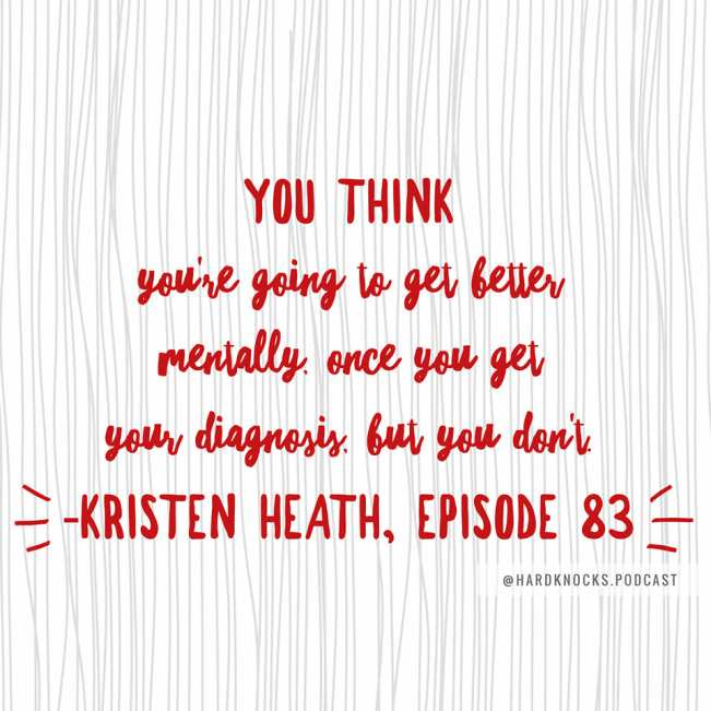 Kristen Heath - Quote 1